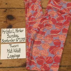 Tween Leggings Floral 00-0